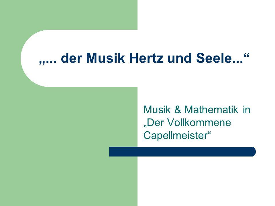 """""""... der Musik Hertz und Seele..."""