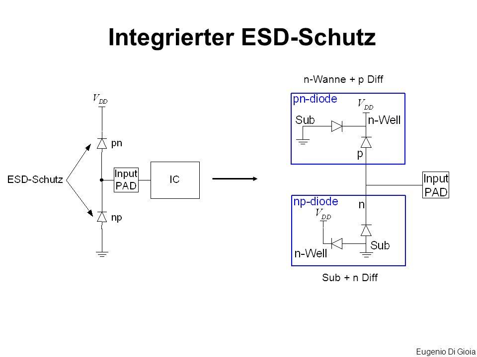 Integrierter ESD-Schutz
