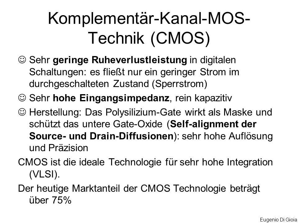 Komplementär-Kanal-MOS-Technik (CMOS)