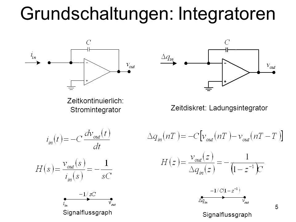 Grundschaltungen: Integratoren