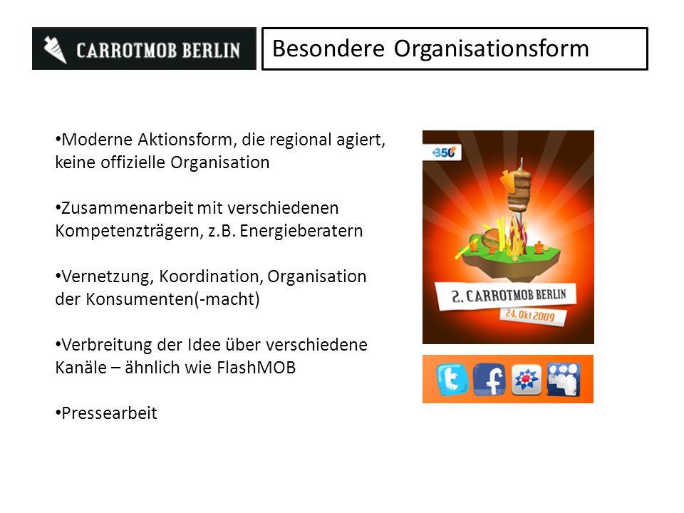 Besondere Organisationsform