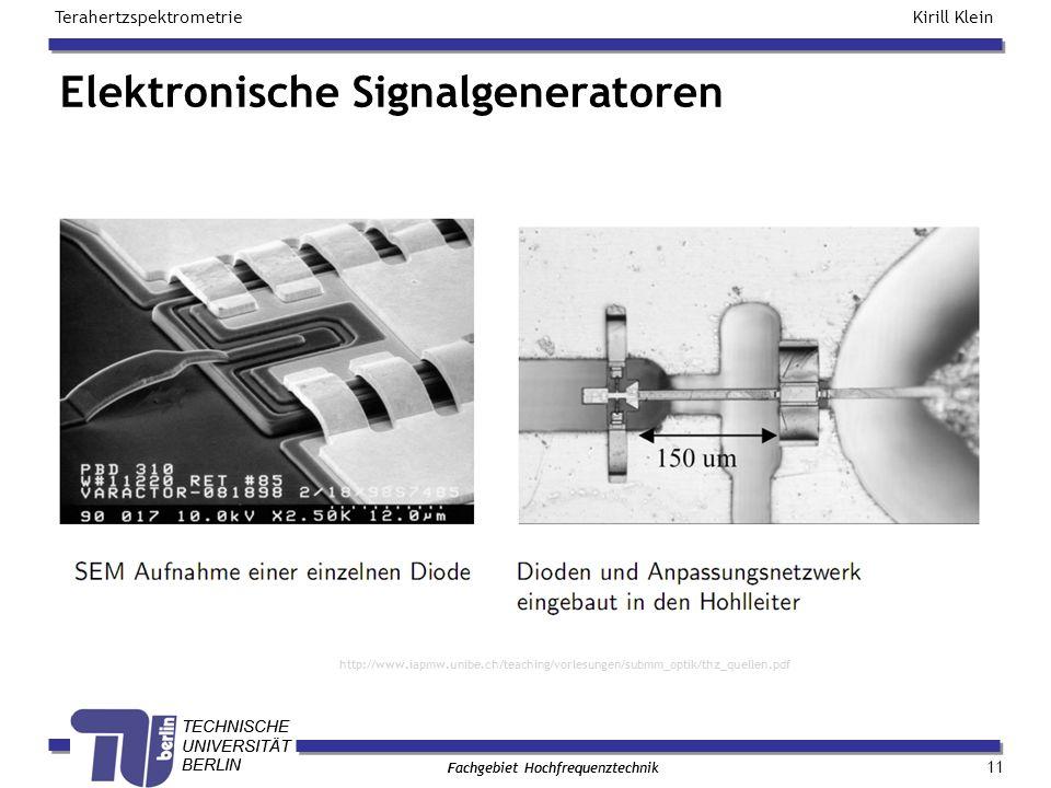 Elektronische Signalgeneratoren
