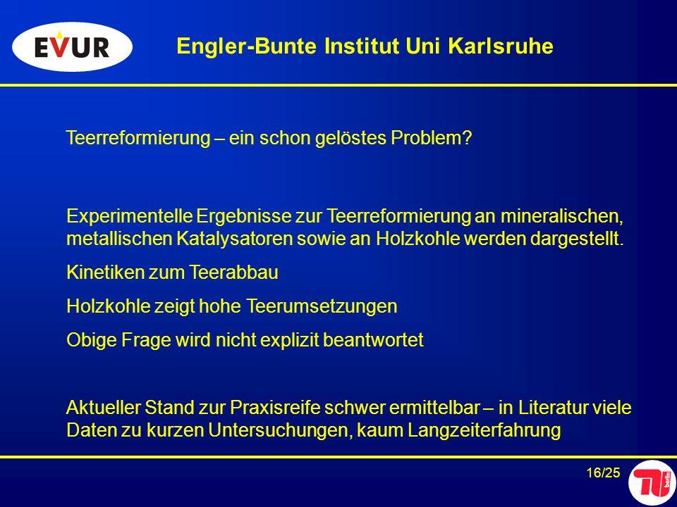 Engler-Bunte Institut Uni Karlsruhe