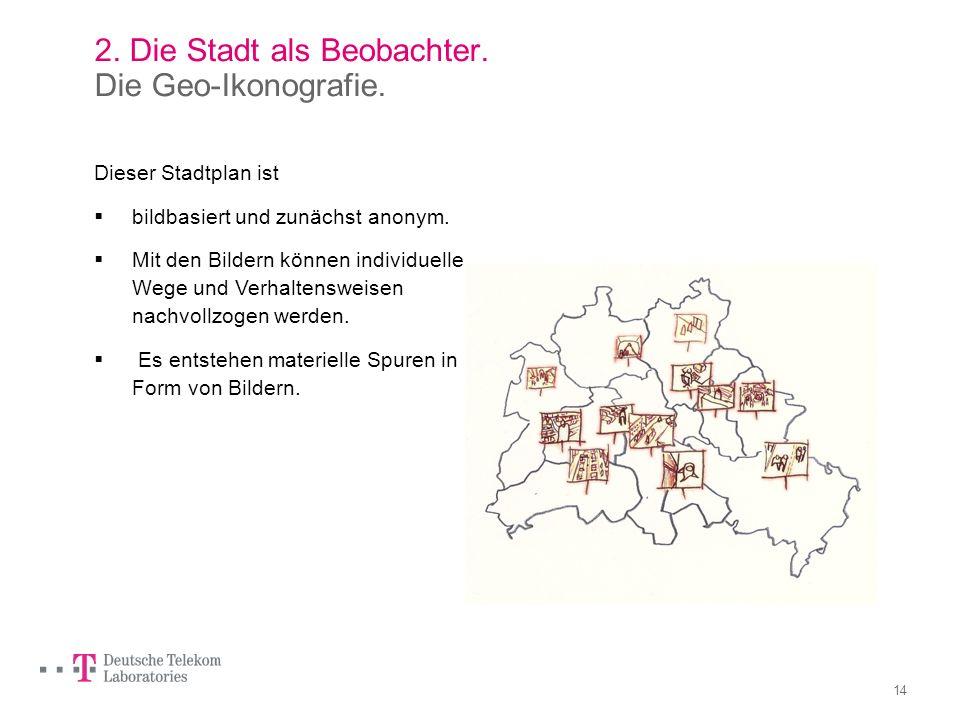2. Die Stadt als Beobachter. Die Geo-Ikonografie.