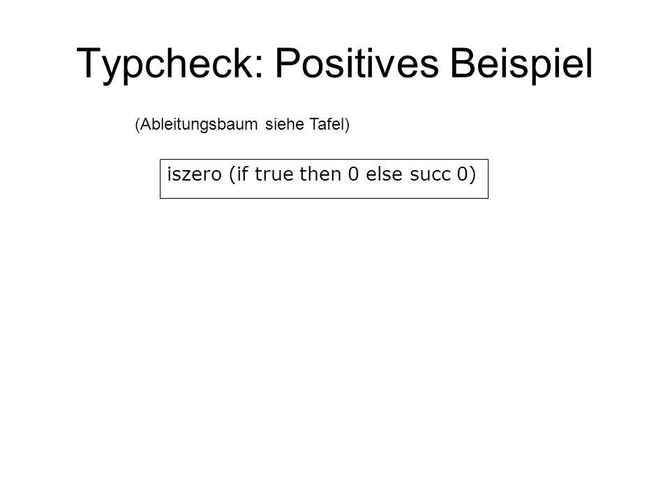 Typcheck: Positives Beispiel