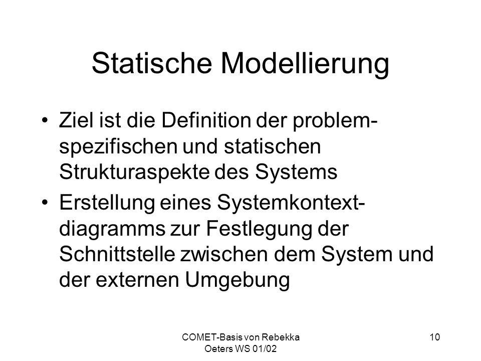 Statische Modellierung