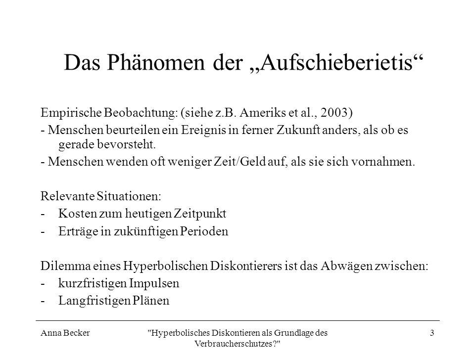 """Das Phänomen der """"Aufschieberietis"""