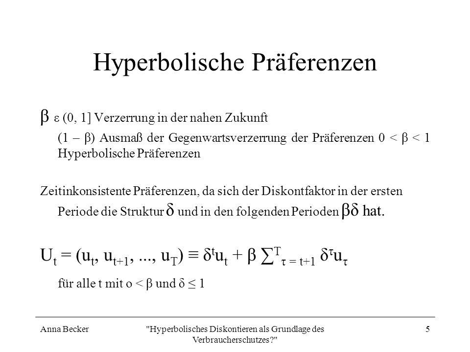 Hyperbolische Präferenzen