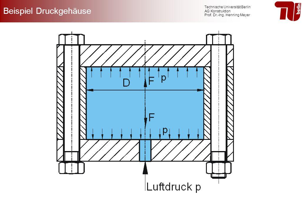 Beispiel Druckgehäuse
