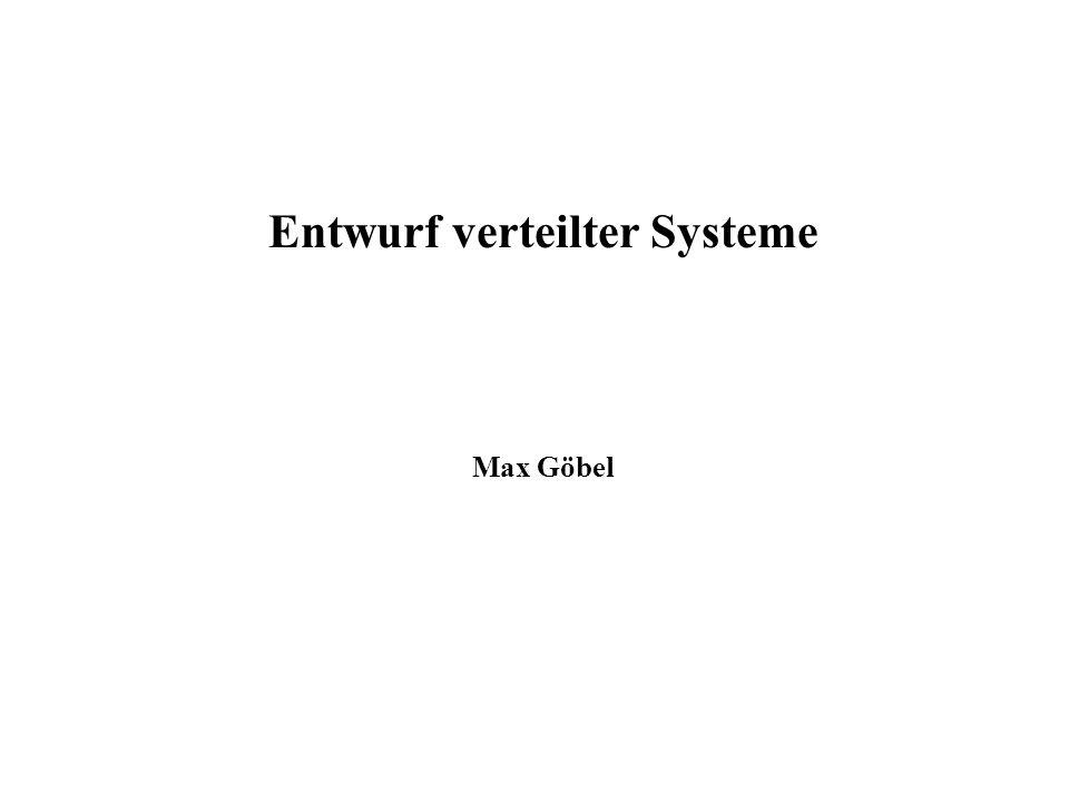 Entwurf verteilter Systeme
