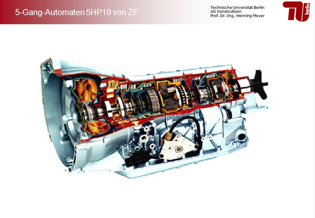 5-Gang-Automaten 5HP19 von ZF
