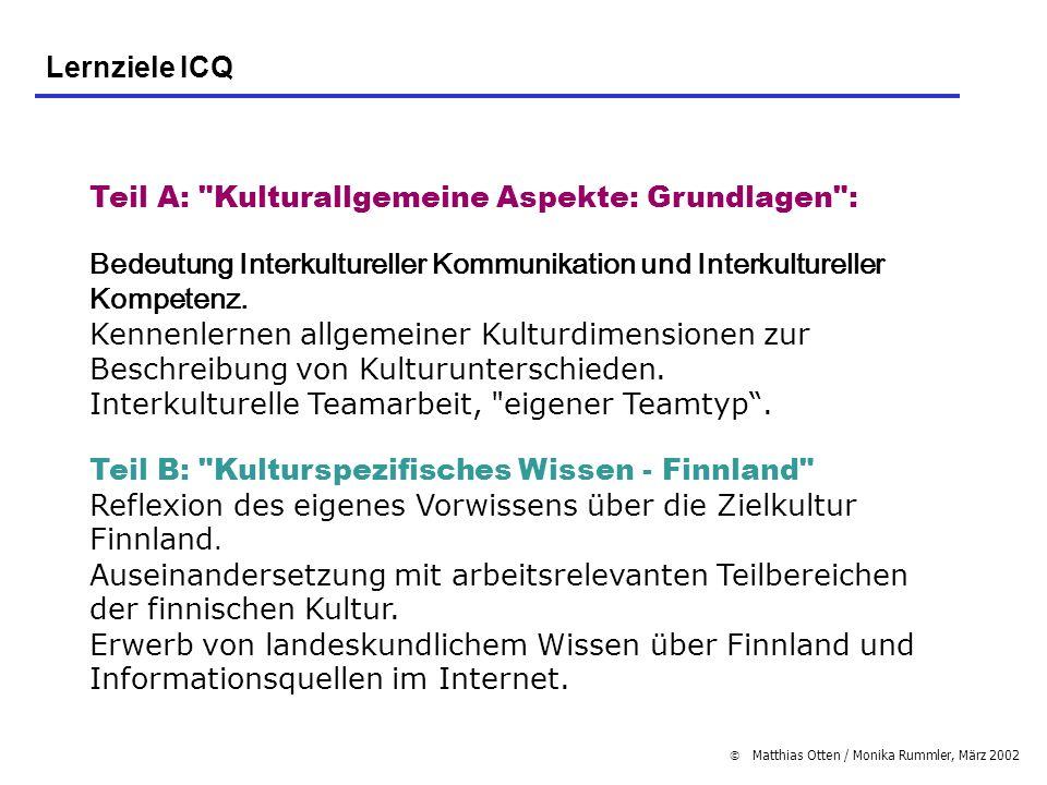 Teil A: Kulturallgemeine Aspekte: Grundlagen :