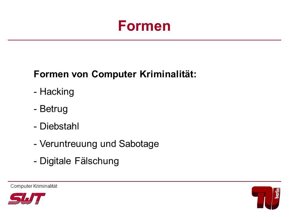 Computer Kriminalität