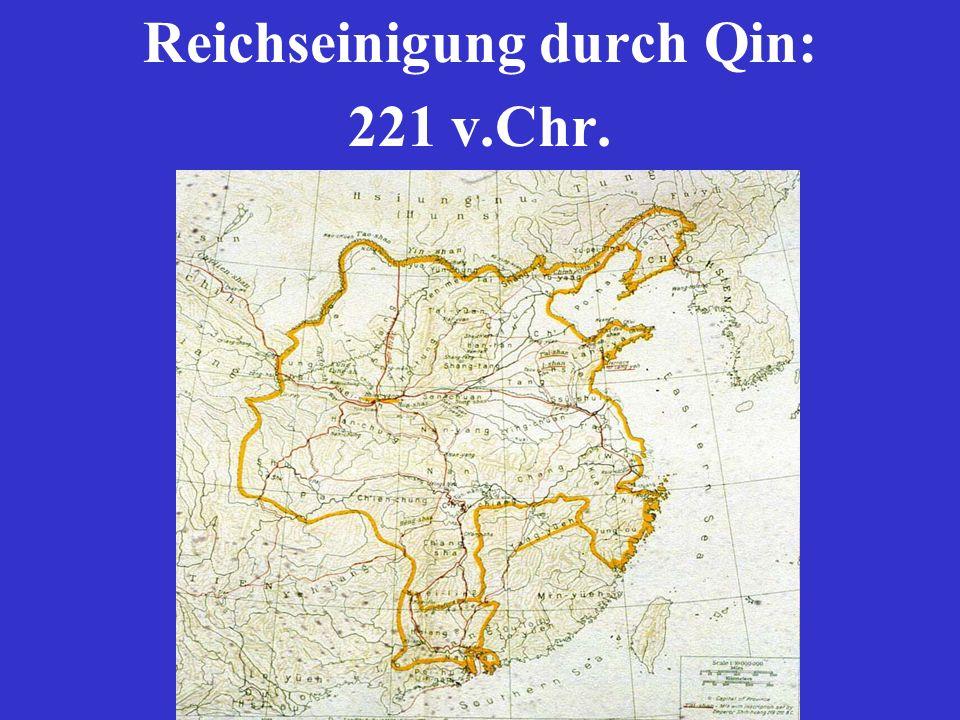 Reichseinigung durch Qin: