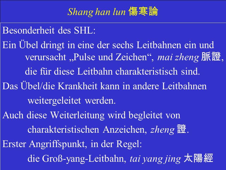 Shang han lun 傷寒論