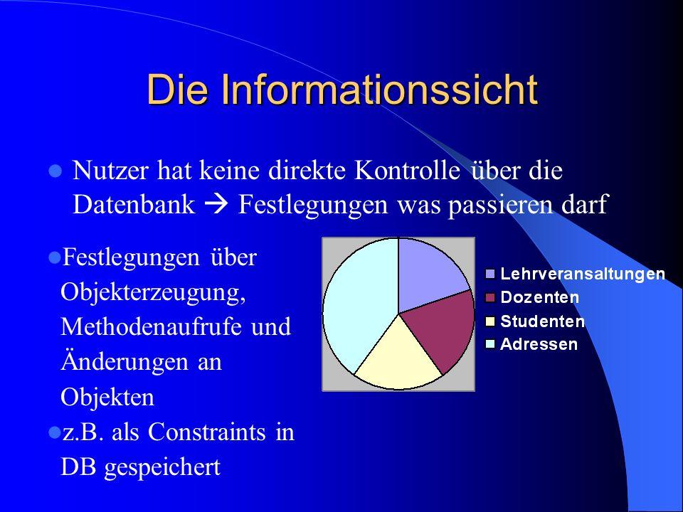 Die Informationssicht