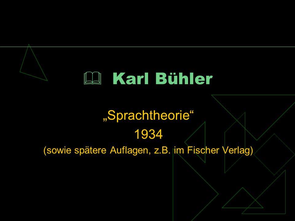 (sowie spätere Auflagen, z.B. im Fischer Verlag)