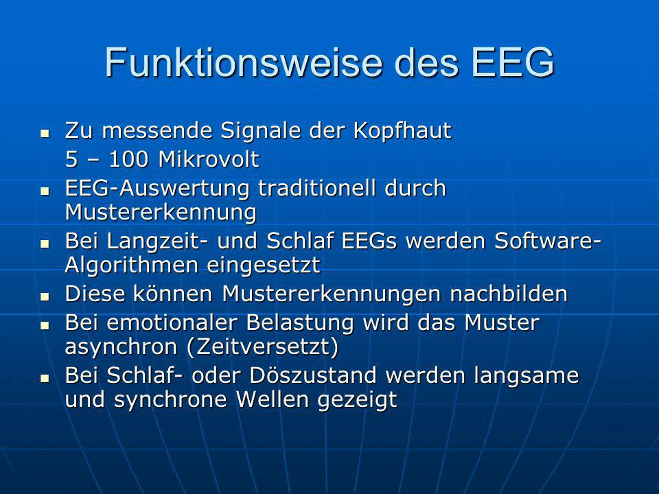Funktionsweise des EEG