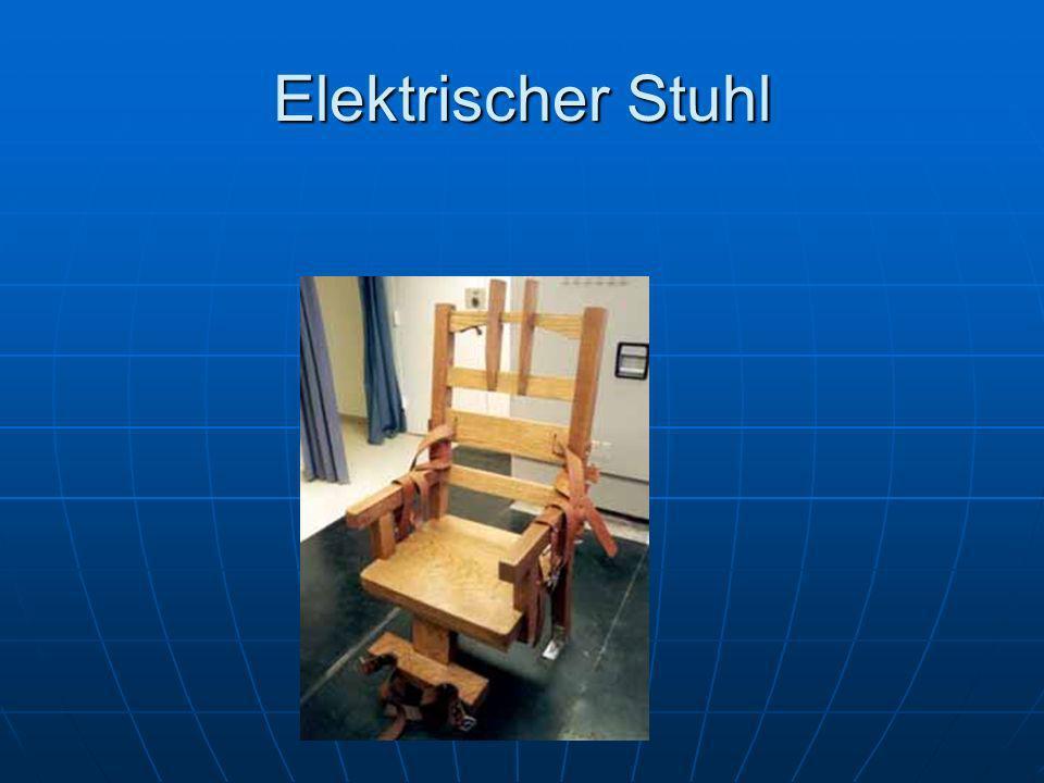 Elektrischer Stuhl
