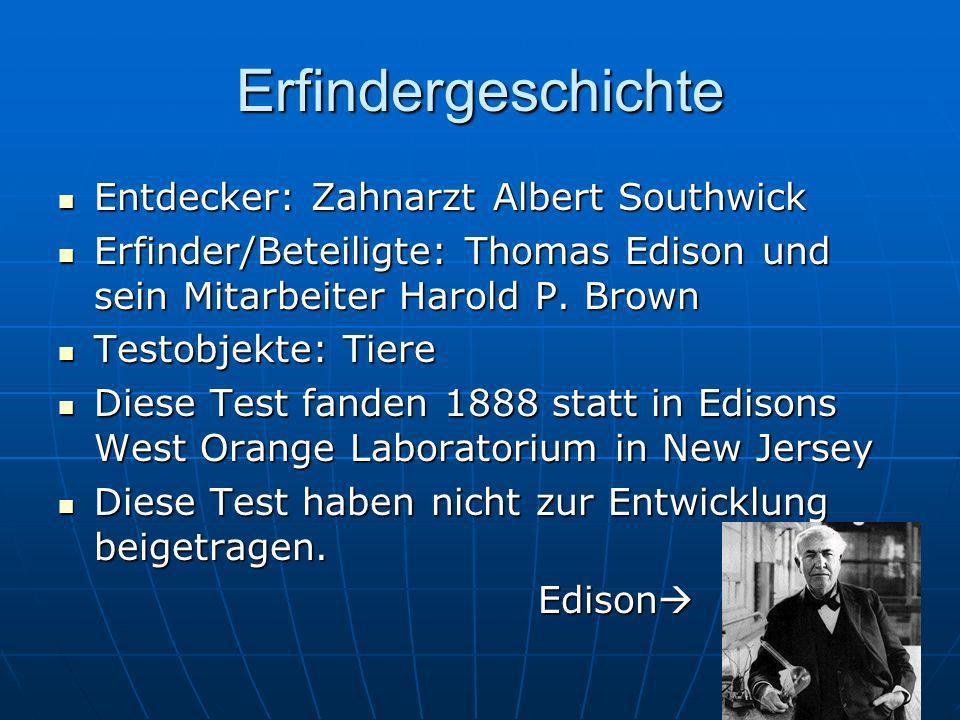Erfindergeschichte Entdecker: Zahnarzt Albert Southwick