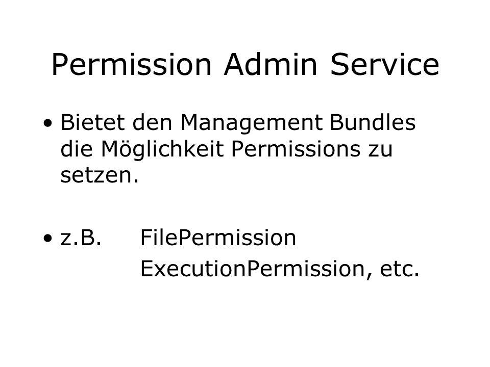 Permission Admin Service