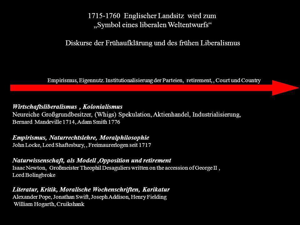1715-1760 Englischer Landsitz wird zum