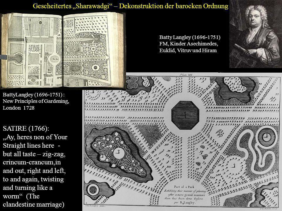 """Gescheitertes """"Sharawadgi – Dekonstruktion der barocken Ordnung"""