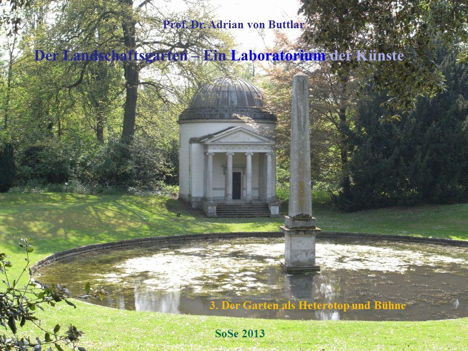 Der Landschaftsgarten – Ein Laboratorium der Künste