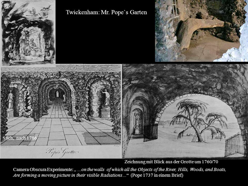 Twickenham: Mr. Pope`s Garten