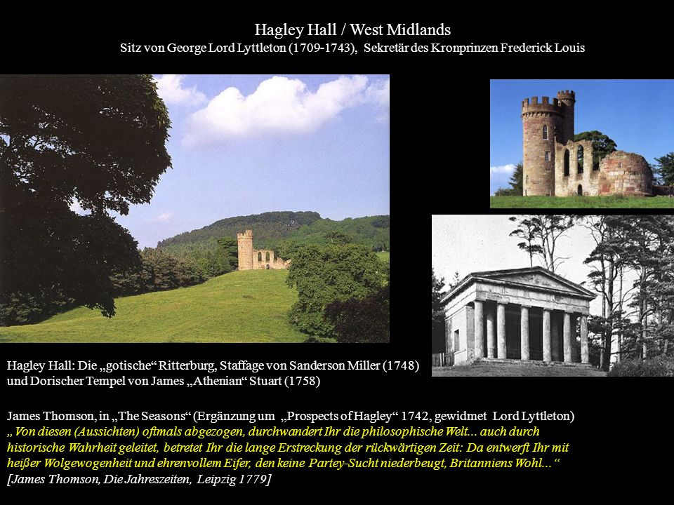 Hagley Hall / West Midlands