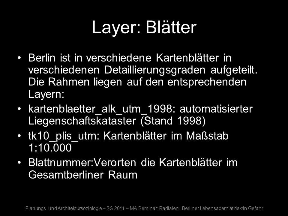 Layer: Blätter