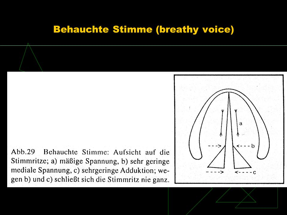 Behauchte Stimme (breathy voice)