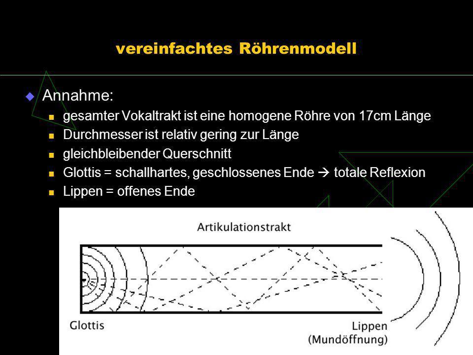 vereinfachtes Röhrenmodell