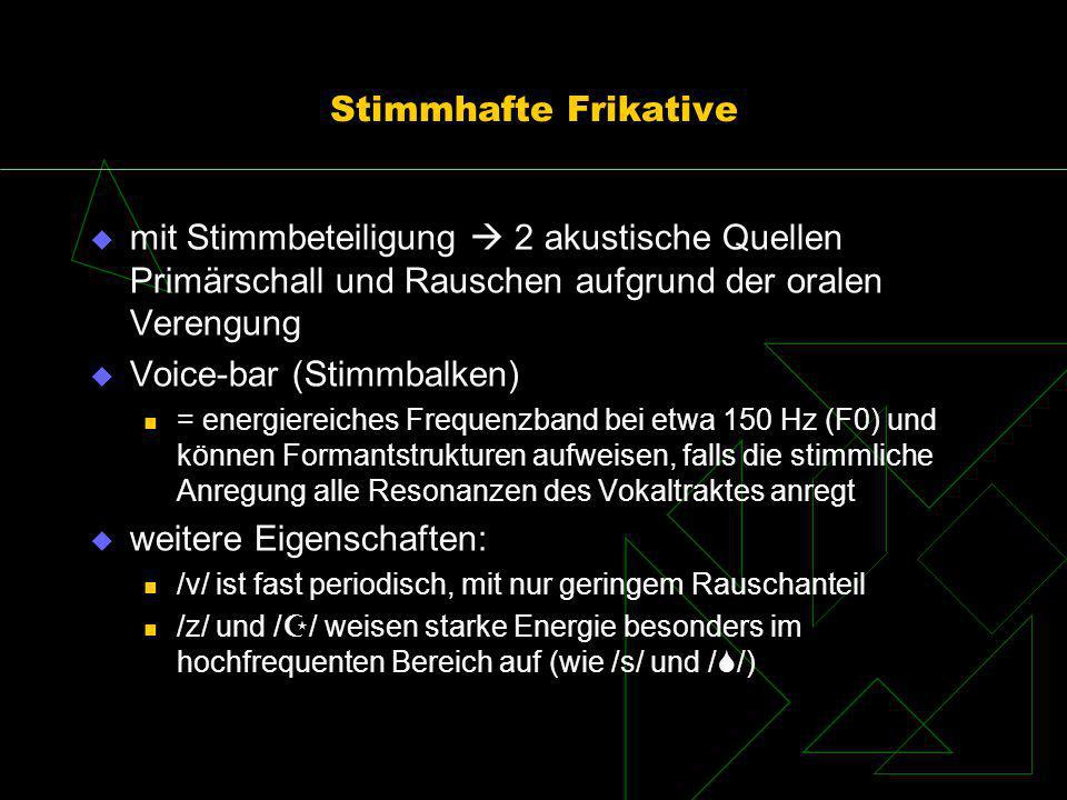 Voice-bar (Stimmbalken)