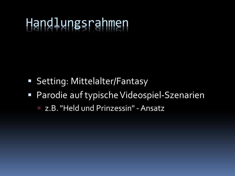Handlungsrahmen Setting: Mittelalter/Fantasy