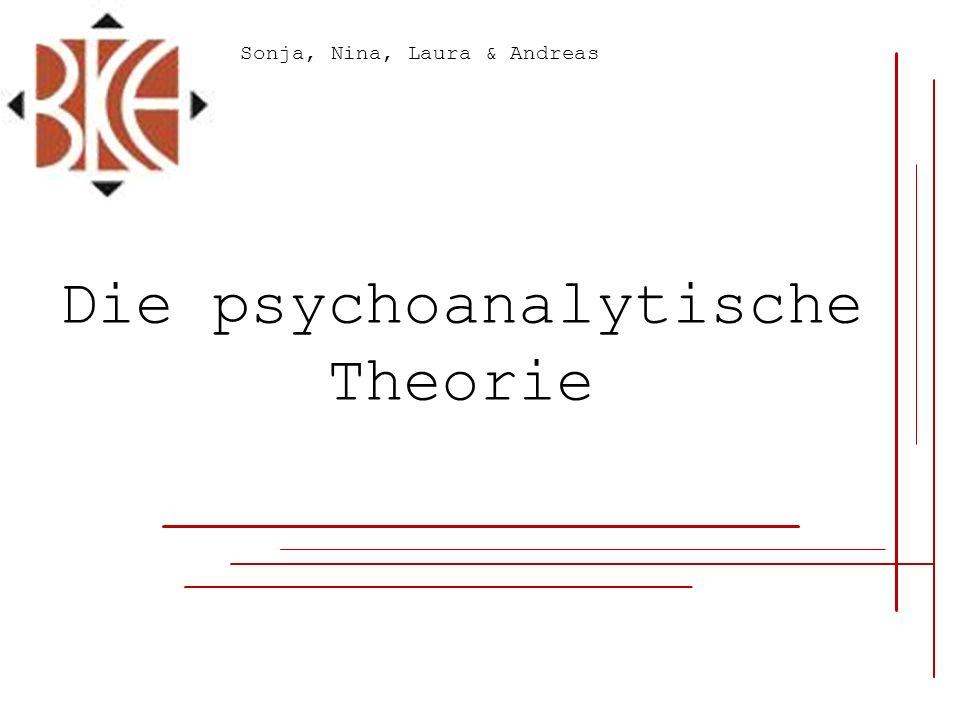 Die psychoanalytische Theorie