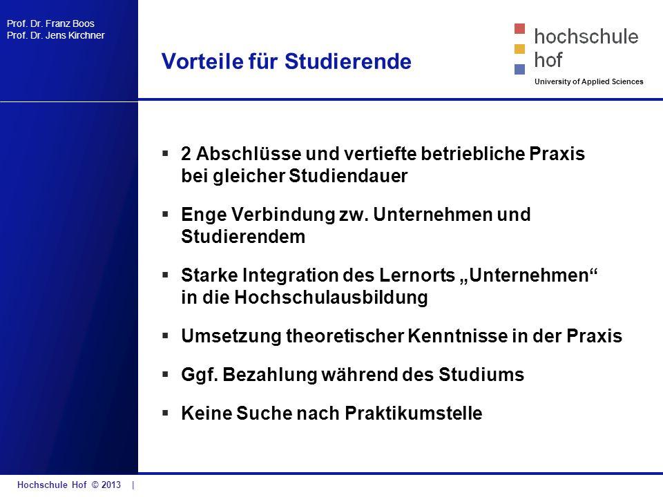 Vorteile für Studierende