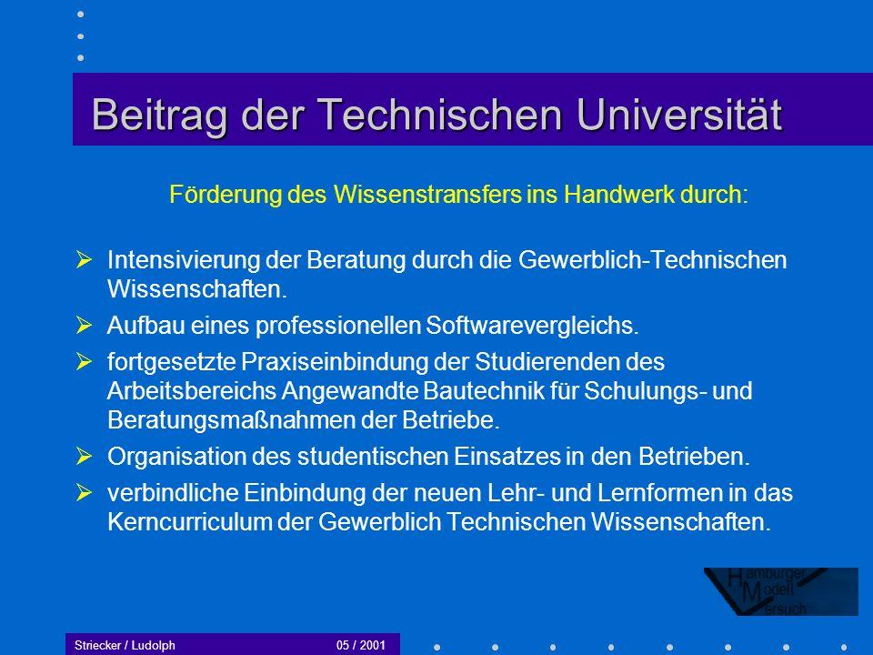 Beitrag der Technischen Universität