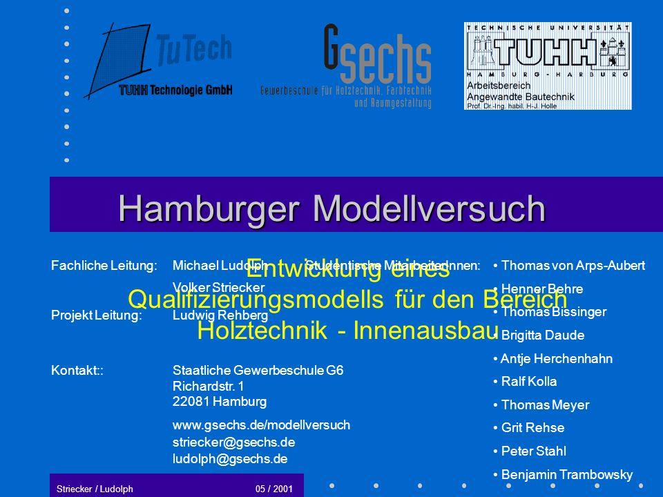 Hamburger Modellversuch