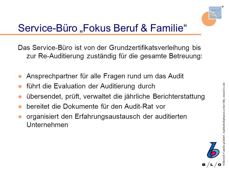 "Service-Büro ""Fokus Beruf & Familie"