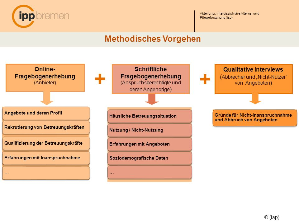 Methodisches Vorgehen Qualitative Interviews