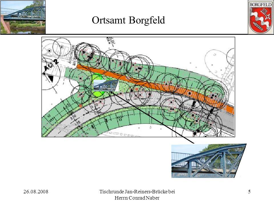 Tischrunde Jan-Reiners-Brücke bei Herrn Conrad Naber