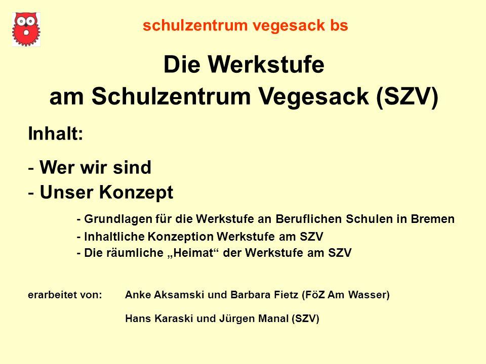 am Schulzentrum Vegesack (SZV)
