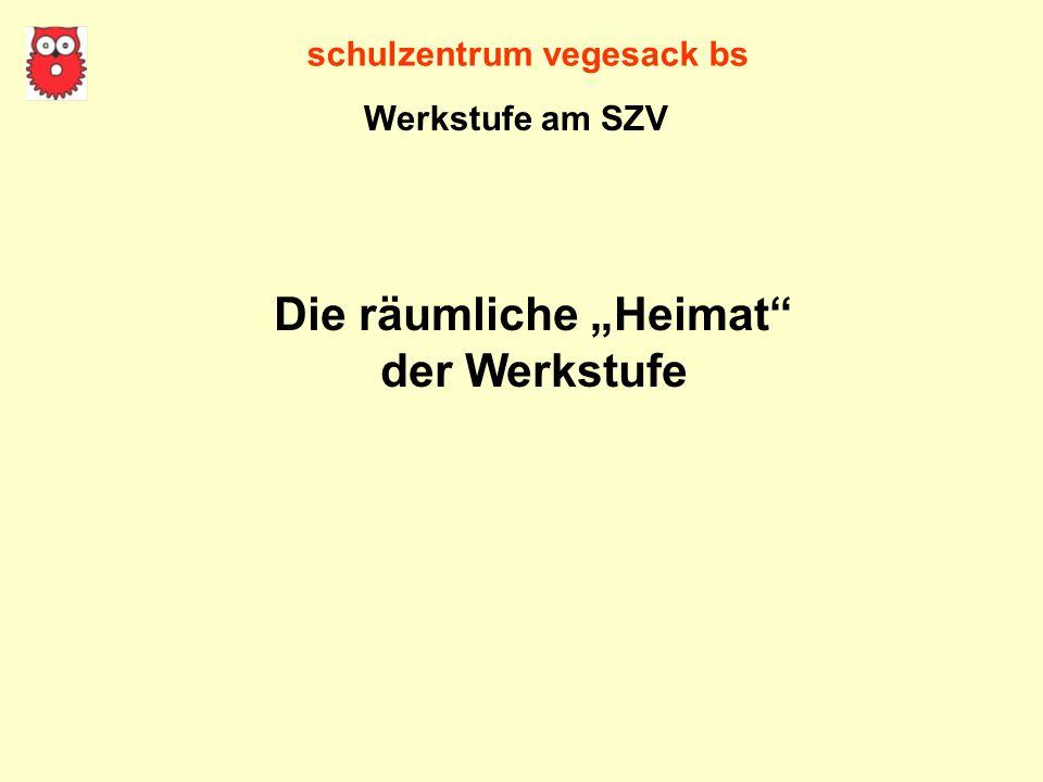 """schulzentrum vegesack bs Die räumliche """"Heimat"""