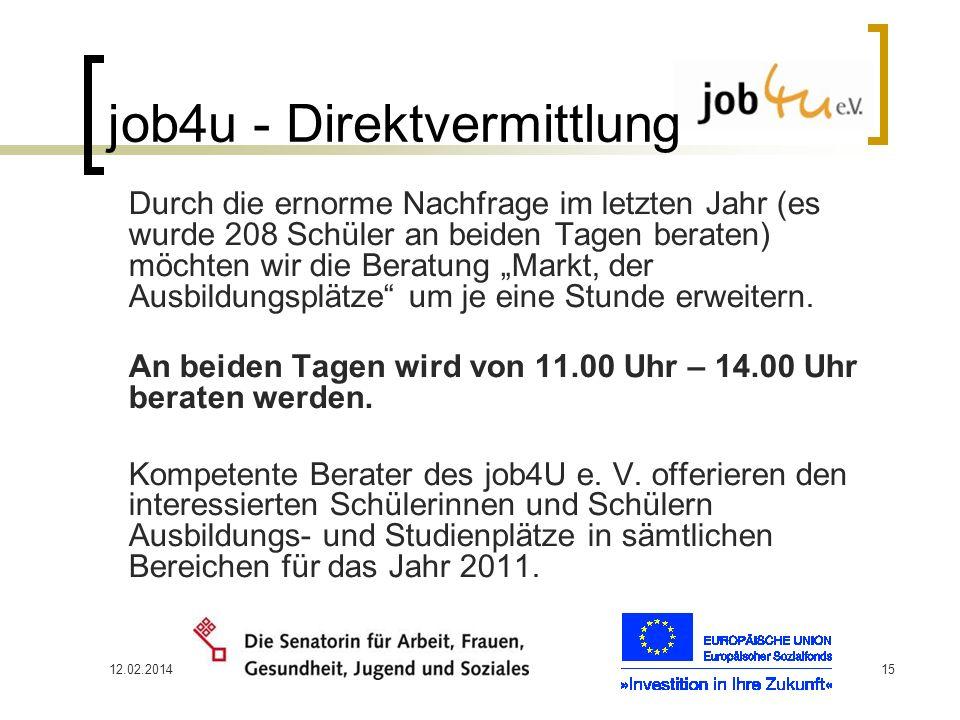 job4u - Direktvermittlung