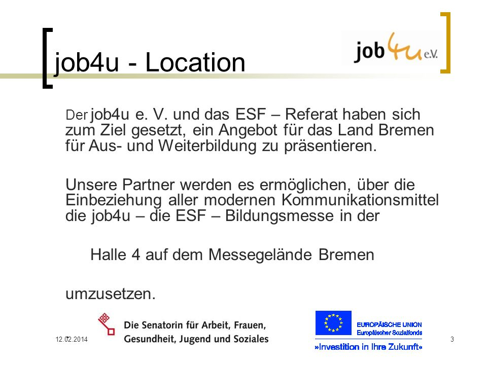job4u - Location