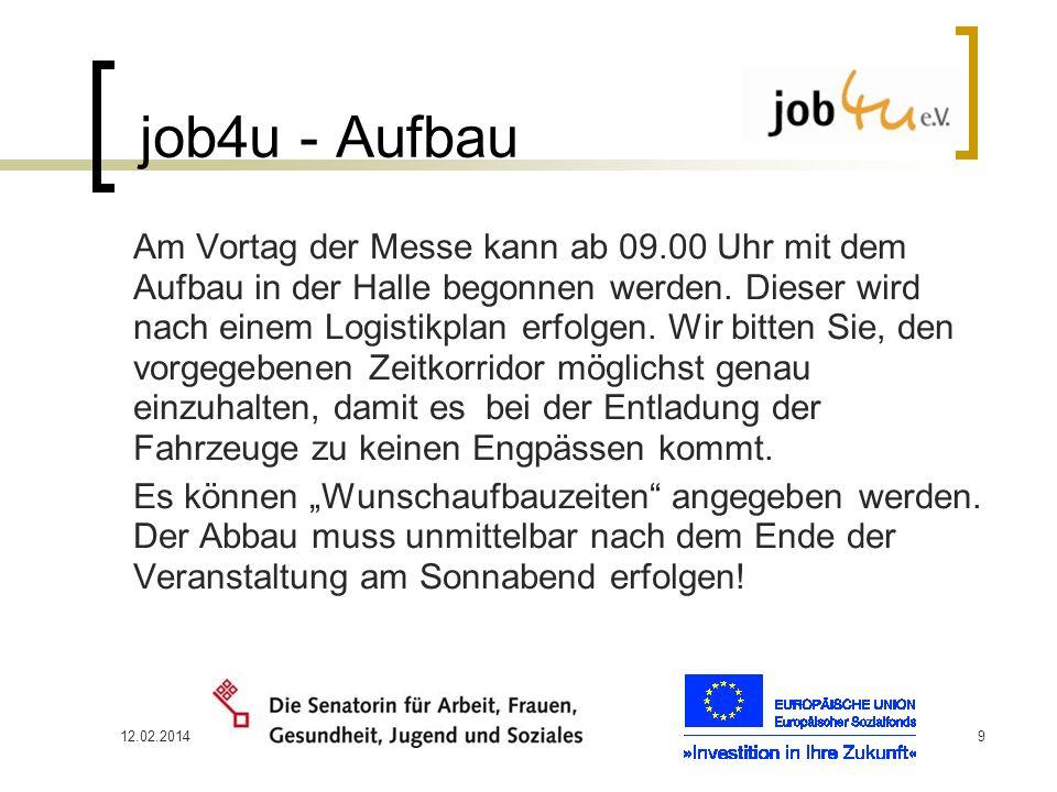 job4u - Aufbau