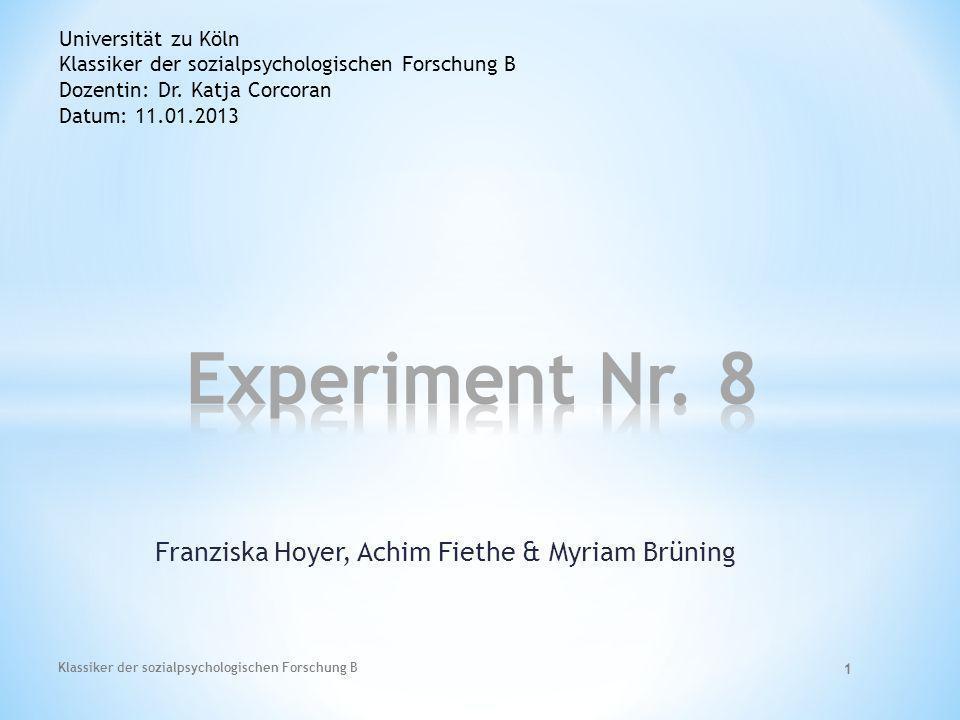 Franziska Hoyer, Achim Fiethe & Myriam Brüning