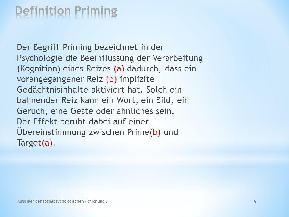 Definition Priming
