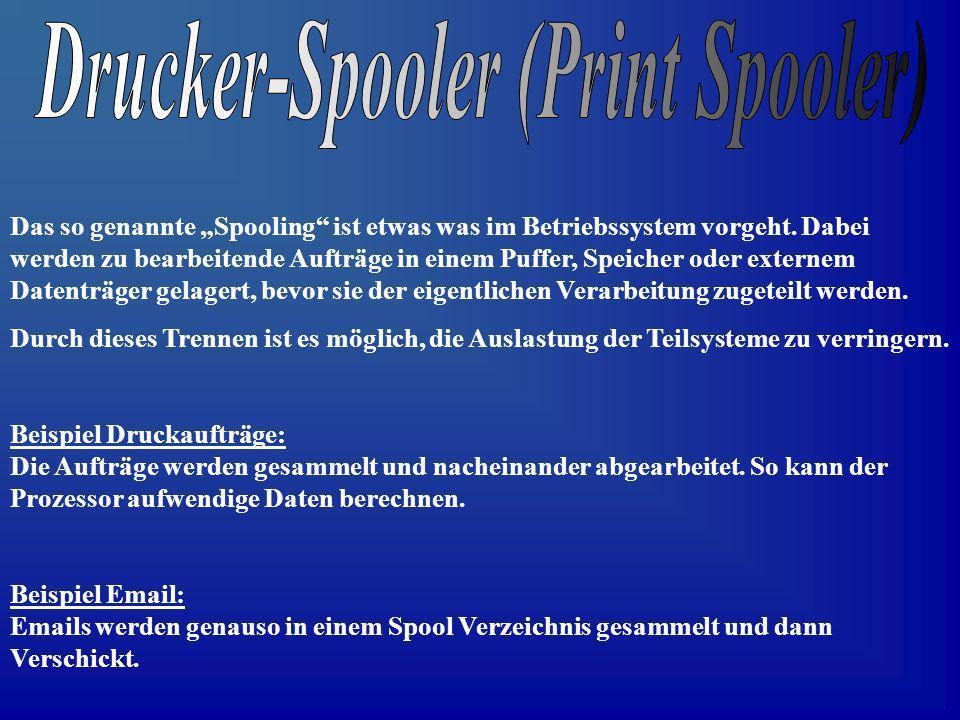 Drucker-Spooler (Print Spooler)